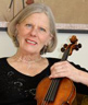 Violinist Patricia Laurence